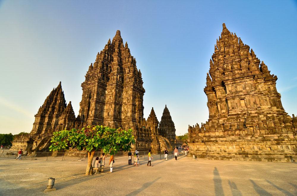 Tempelanlage auf Java