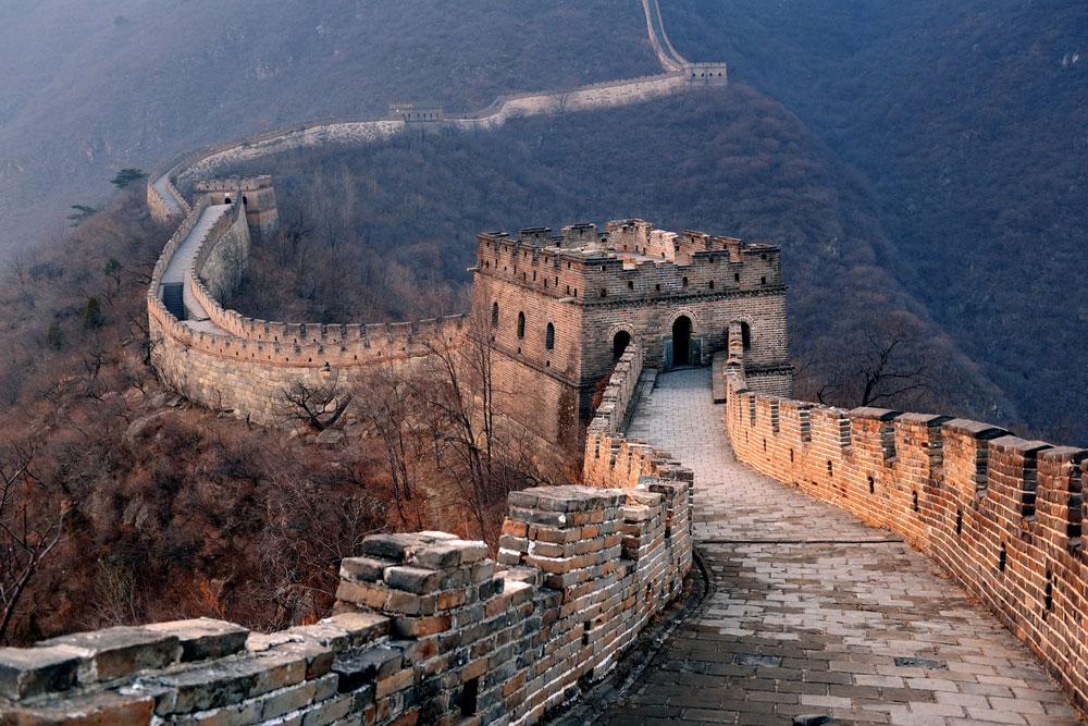 Highlight in Asien: die Chinsesische Mauer