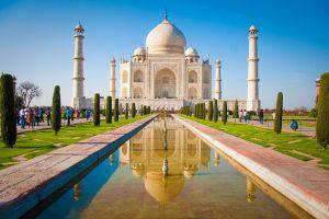 Ein Muss in Indien: Das Taj Mahal