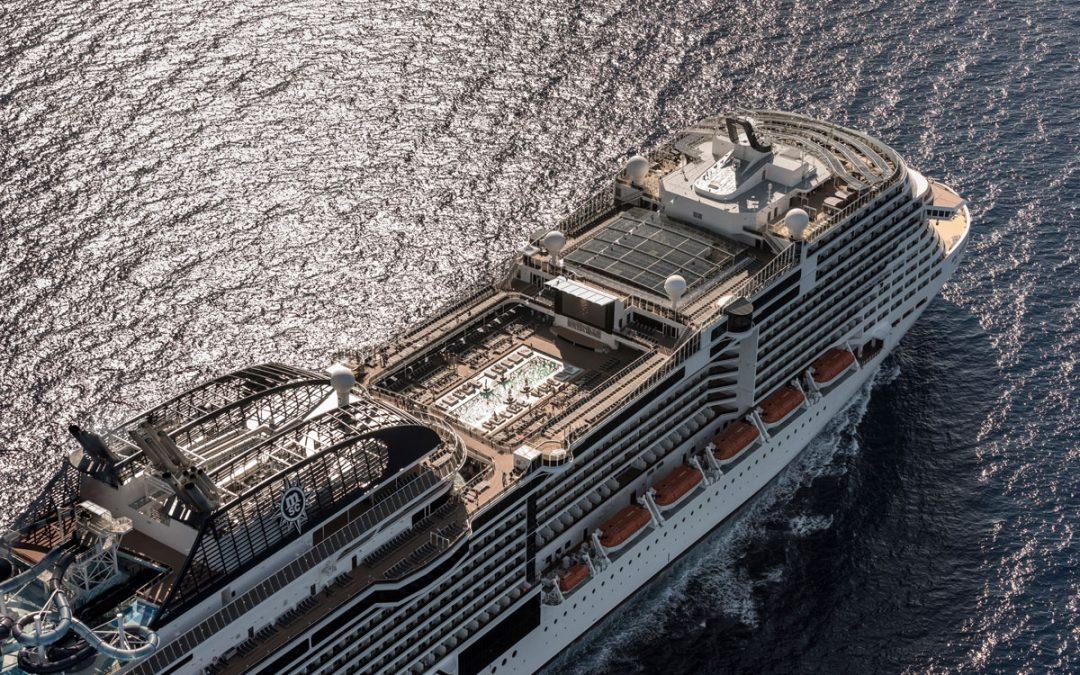 Mann über Bord: MSC weitet Sicherheitssysteme aus
