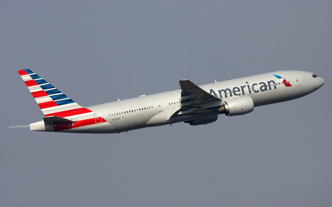 American Airlines Flieger