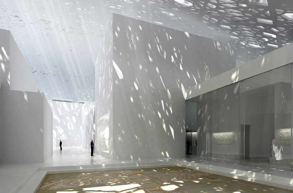 Abu Dhabi will weltweites Kunstzentrum werden