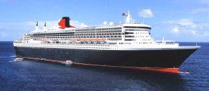 Die Queen Mary zwei im Kreuzfahrtschiff-Ranking