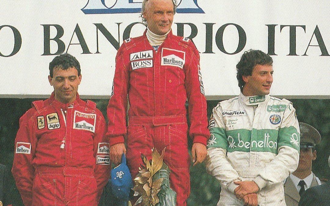 Niki Lauda 1984 in Monza