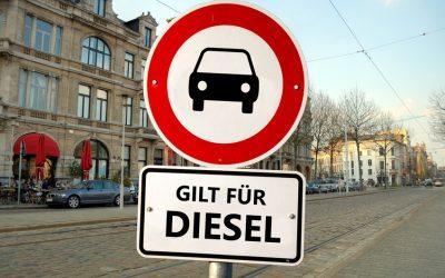 Weg frei für Diesel-Fahrverbote