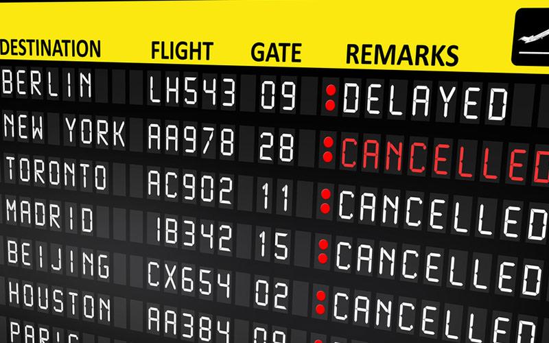 Flughafen Streiks: Hunderte Flüge entfallen