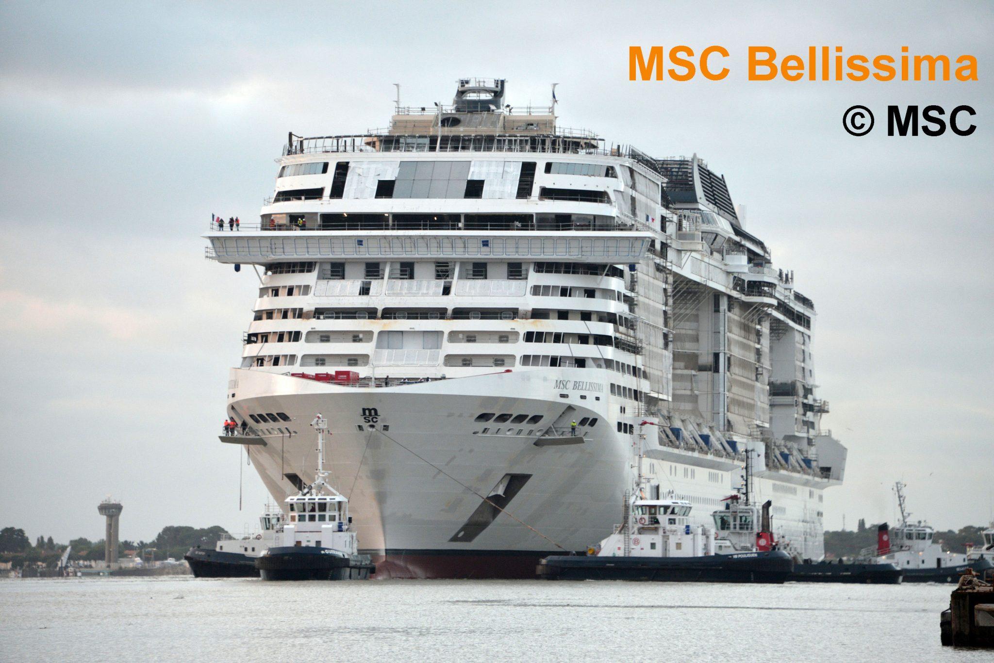 Neues Kreuzfahrtschiff 2019: MSC Bellissima