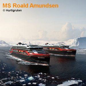 Doe Roald Amundsen von Hurtigruten.