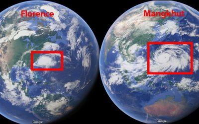 Taifun Mangkhut bedroht  Philippinen: Schlimmer als Florence