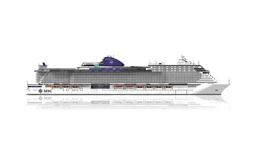 MSC Kreuzfahrten: Neues Mega-Schiff für 2021 geplant