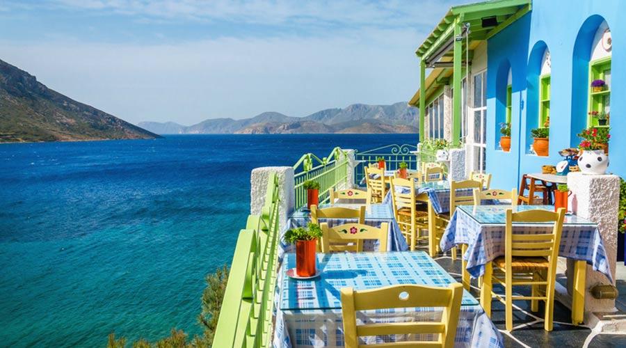 Unter den günstigen Urlaubszielen 2019: einige Griechische Inseln.