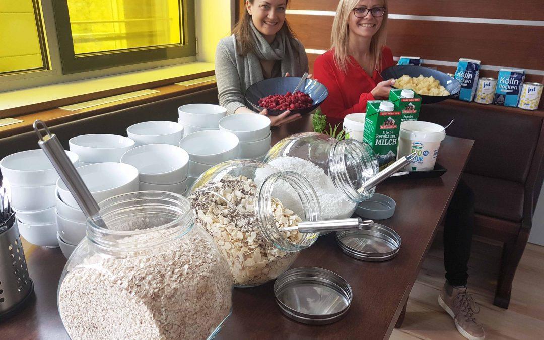 Gesundes Arbeiten bei travianet mit Brainfood