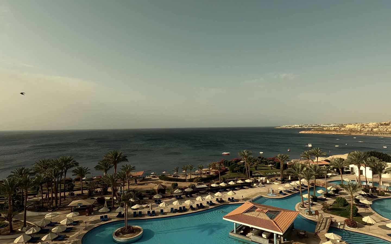 Auch Sharm-el-Sheikh hat 2021 nicht mehr soviele Gäste.