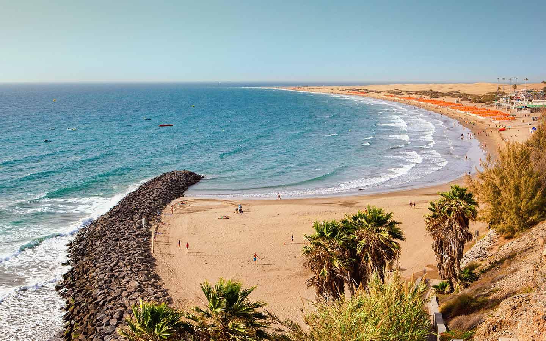 Strand auf den Kanaren - perfekt für einen Urlaub 2021