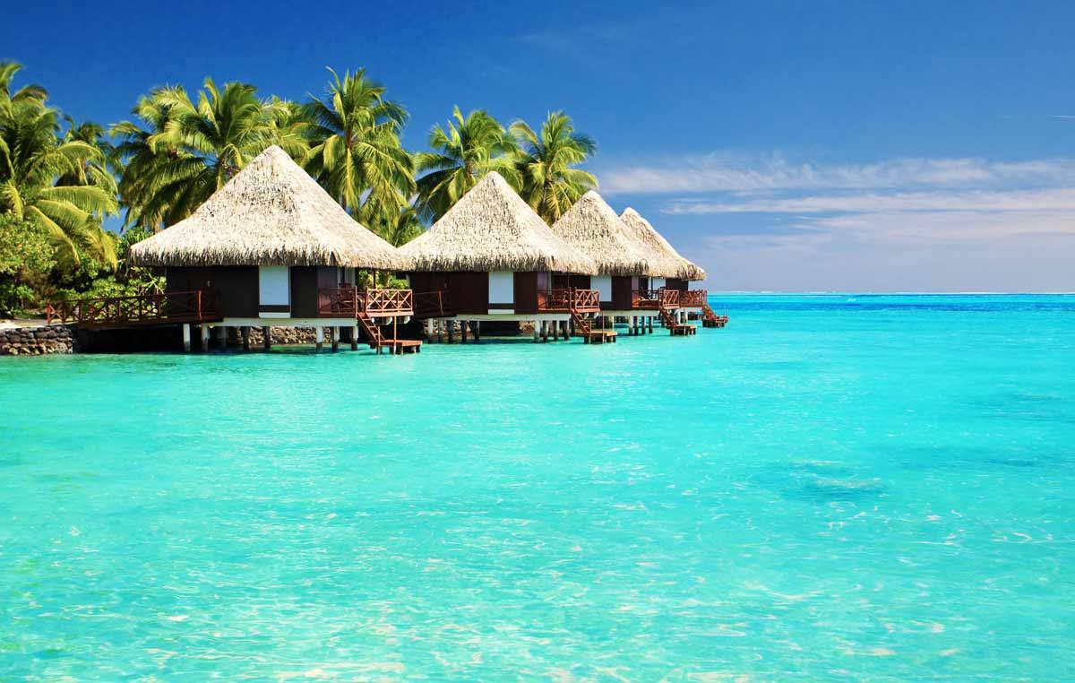 Perfektes Reiseziel im Herbst: die Malediven