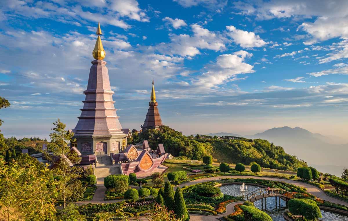 Tempelanlage in Thailand: Perfektes Ausflugsziel bei einem Urlaub im Herbst