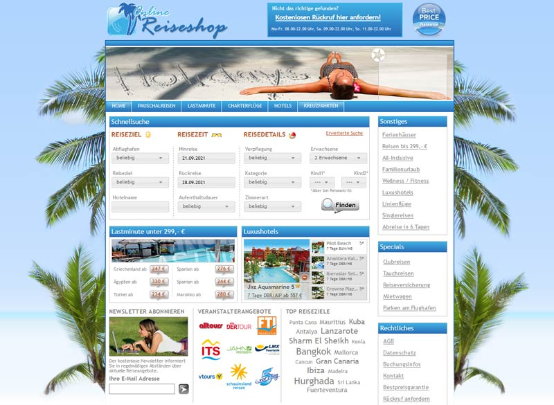 Der TBE-Reiseshop von travianet: der Allrounder unter den Werbemitteln