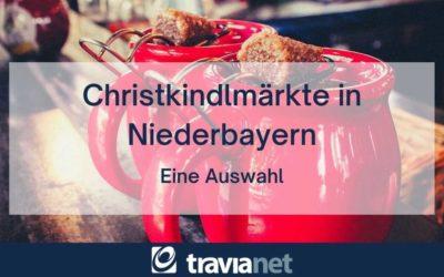 Christkindlmärkte in Niederbayern 2021